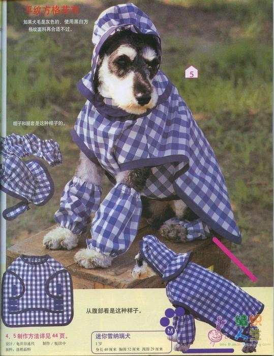 Одежда для собак япония
