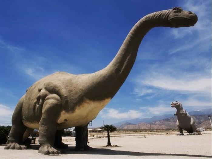 Динозавры не смогли бы выжить в современных условиях
