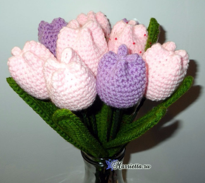 Вяжем крючком цветы - ТЮЛЬПАНЫ (4) (687x612, 337Kb)