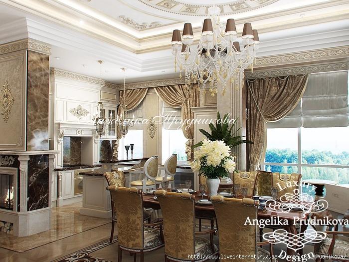 Дизайн интерьера для квартиры в стиле модерн в ЖК Садовые кварталы.