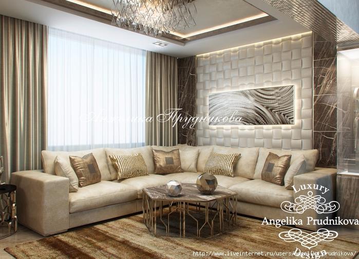 Интерьер квартиры в стиле Модерн в Солнцева.
