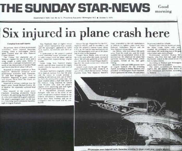 Гибель целых спортивных команд в 16 авиационных катастрофах