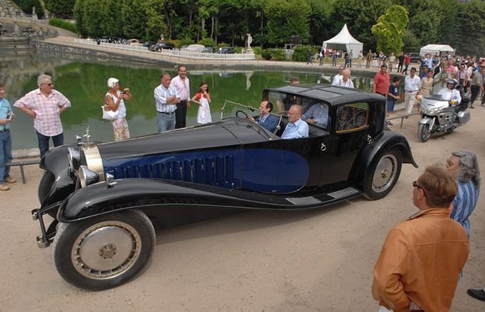 Bugatti Type 41 — самый большой легковой автомобиль в мире