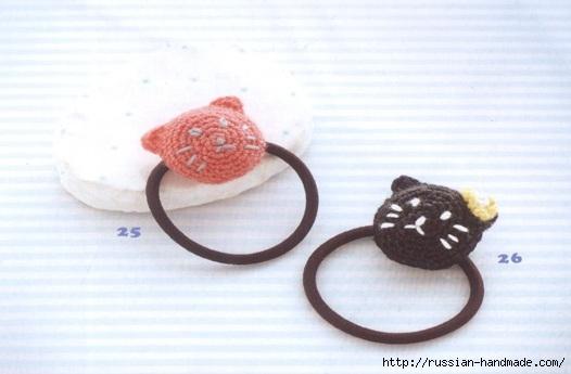 Кошечка крючком. Резинка для волос малышки (1) (526x345, 89Kb)