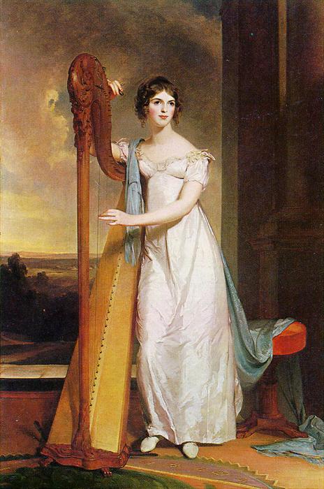 1818-Lady-with-Harp-Eliza-Ridgely-Sully (464x700, 578Kb)