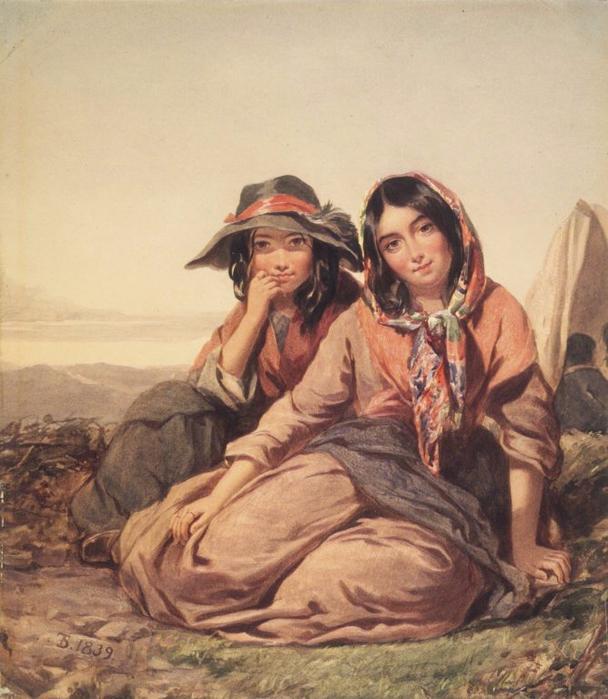 Brooklyn_Museum_-_Gypsy_Maidens_-_Thomas_Sully (608x700, 403Kb)