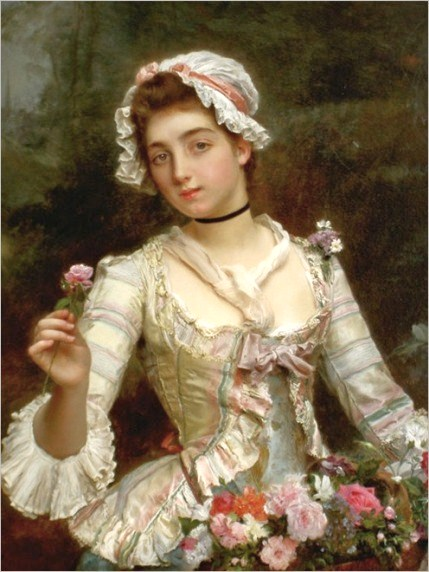 Gustave Jean Jacquet (French artist, 1846-1909) (729x900, 68Kb)