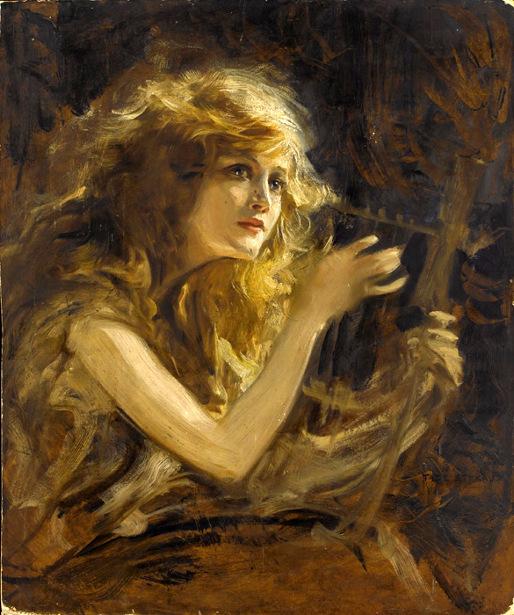 girl-playing-lyre (514x615, 389Kb)