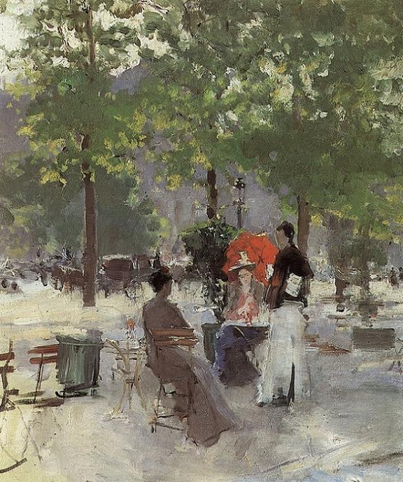 Парижское кафе2. 1890-е (584x700, 507Kb)