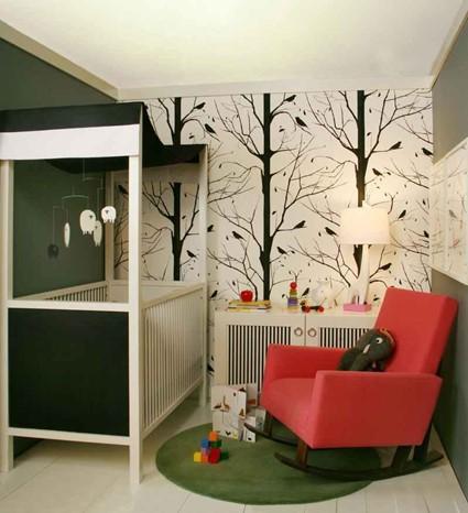 Декор стен в виде рисунка: выбор темы, шаблоны, нанесение, примеры