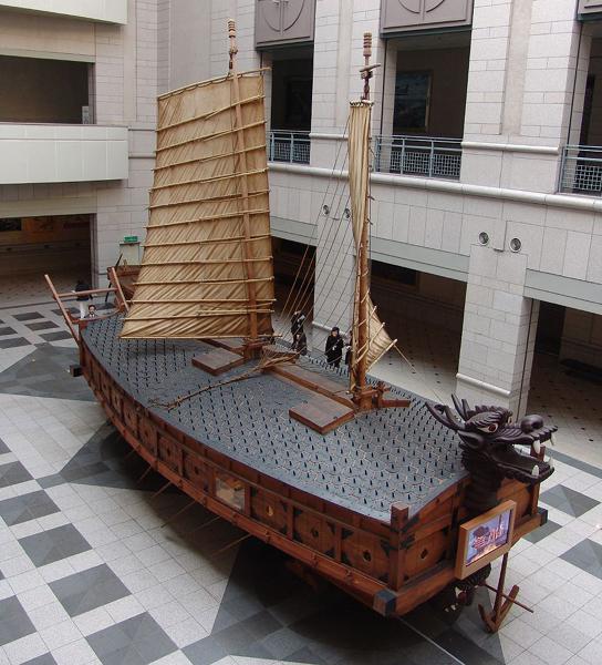 корабль-черепаха кобуксон корея 5 (544x600, 381Kb)