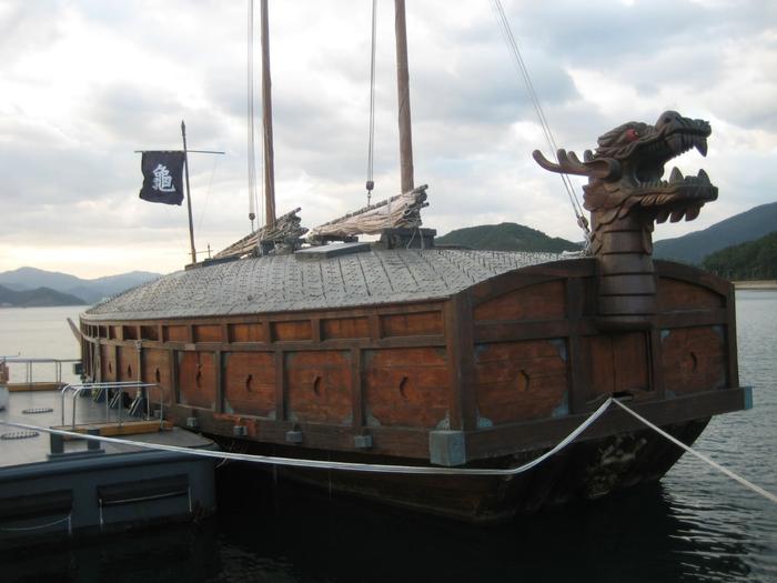 корабль-черепаха кобуксон корея 9 (700x525, 296Kb)
