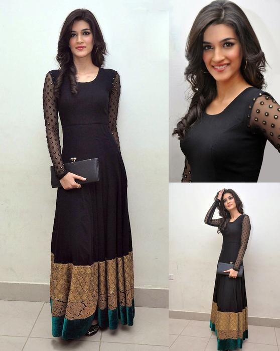 1333-kriti-long-black-gown (558x700, 358Kb)