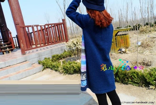 Декор длинного пуловера ажурным мотивом крючком (9) (656x443, 225Kb)