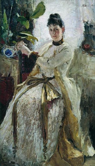 Портрет княгини Софьи Николаевны Голицыной. 1886 (397x692, 342Kb)