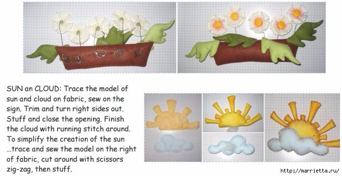 Цветы в окошке. Детский венок из веток с текстильной куклой и цветами (4) (700x361, 189Kb)