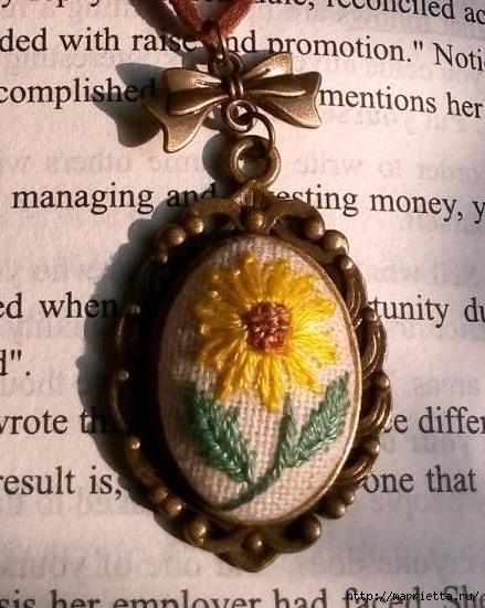 Медальоны с вышивкой. Как вышивать (15) (439x551, 173Kb)