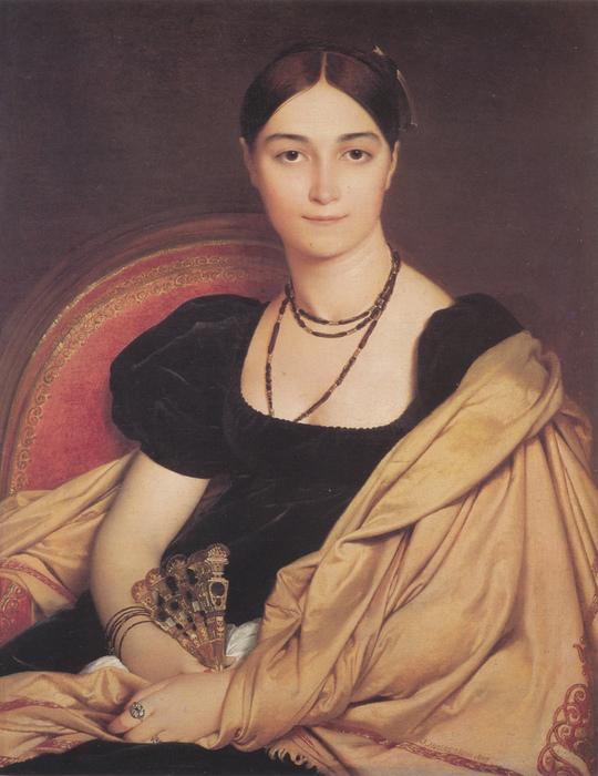 Жан Огюст Доминик Энгр. Портрет мадам Девосэ (540x700, 204Kb)
