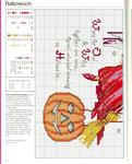 Превью схемы для вышивания хэллоуин 8Р° (564x700, 429Kb)