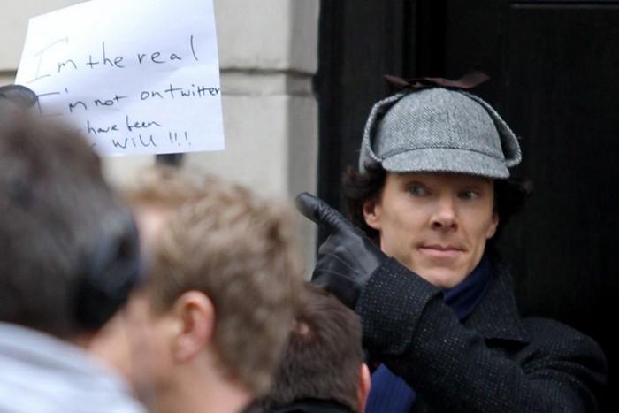 Съемки сериала «Шерлок» остановлены, но продолжение будет, господа журналисты!
