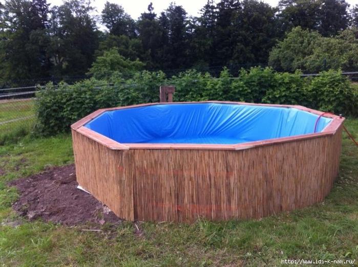 Как сделать бассейн из дерева своими руками видео - Kazan-avon
