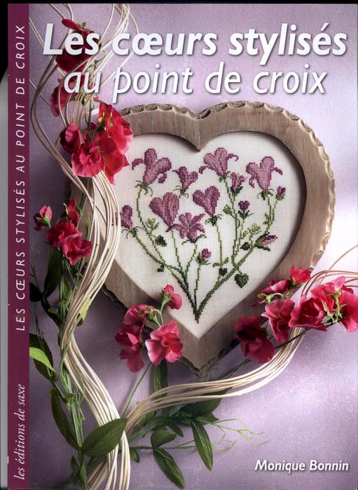 347_Monique Bonnin - Les coeurs stylises au point de croix - 2009_Страница_01 (511x700, 462Kb)