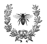 Превью french wreath transfer--graphicsfairysm (266x252, 50Kb)