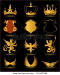 Превью stock-vector-collection-heraldic-gold-elements-on-black-background-vector-111830588 (377x470, 152Kb)