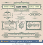 Превью stock-vector-vintage-frame-ornament-and-element-for-decoration-and-design-89631184 (450x470, 202Kb)