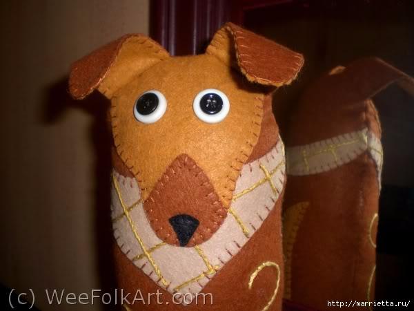 Шьем собачку из фетра - подпорку для двери (13) (600x450, 111Kb)