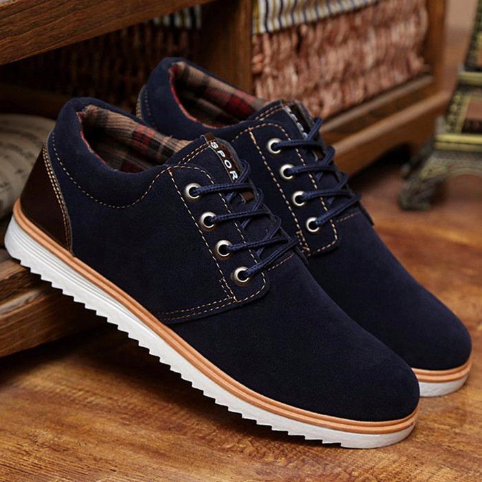 Обувь осень мужская модная