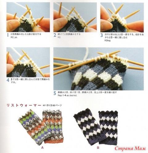 Схемы плетения французского водопада