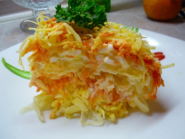 Салаты из моркови рецепты быстро и вкусно