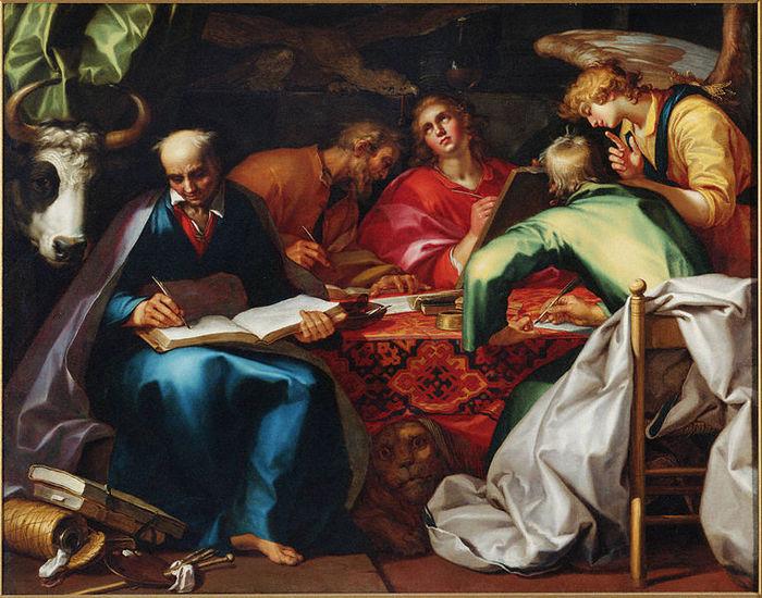 А. Блумарт, Четыре евангелиста, 1615 год (700x550, 106Kb)