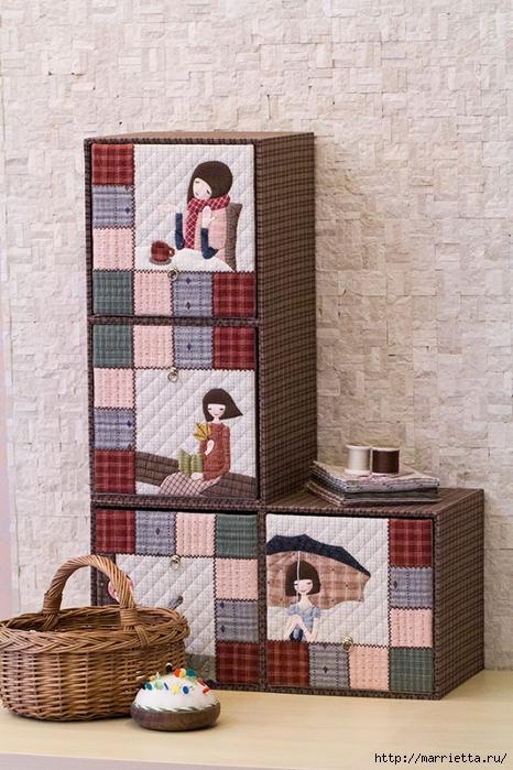 Лоскутное панно в детскую комнату. Шаблоны (5) (466x700, 311Kb)