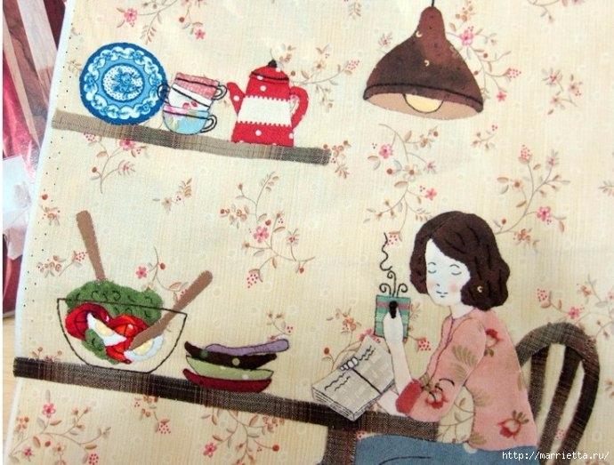 Лоскутное панно в детскую комнату (1) (690x523, 224Kb)