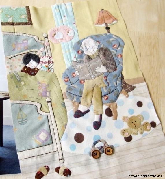 Лоскутное панно в детскую комнату (36) (571x620, 228Kb)