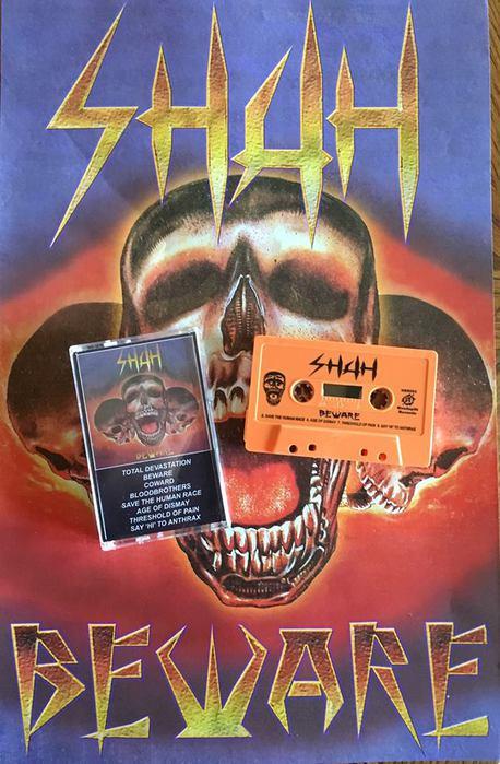 Shah - Beware (1989) (Headsplit Records, USA, 2015) (458x700, 68Kb)