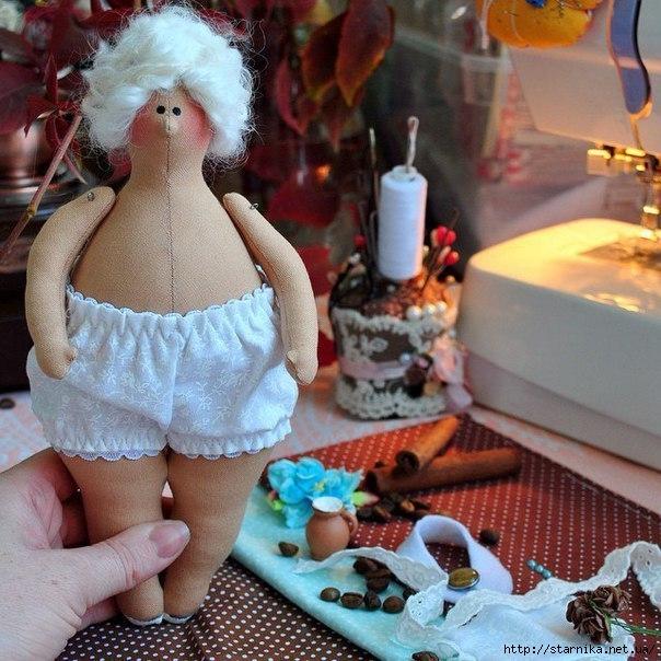 Кукла тильда своими руками толстушка 77
