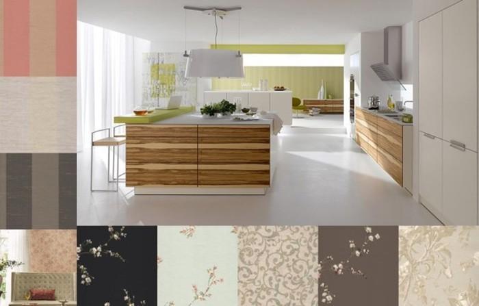 Виды обоев по расцветке, практичности, плотности, обои для кухни и другие
