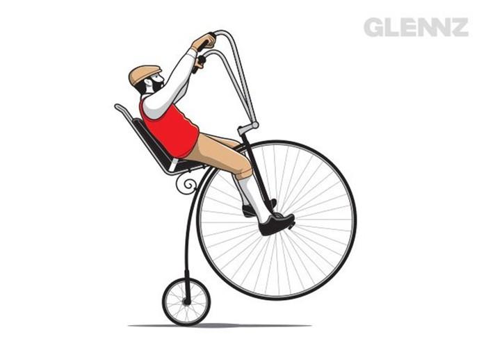 Гленн Джоунс   остроумные иллюстрации для футболок и просто для смеха
