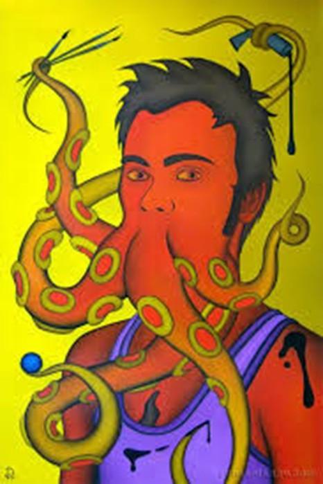 Творческий стиль уфолизм художника Diezel не для слабых духом!