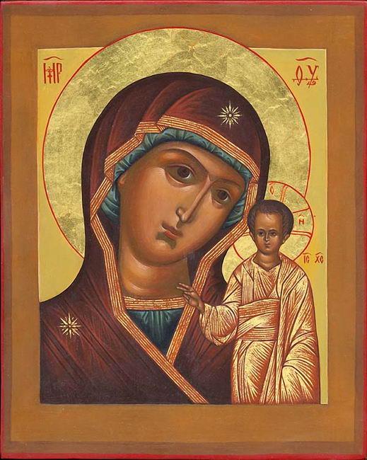 Казанская икона (519x650, 78Kb)