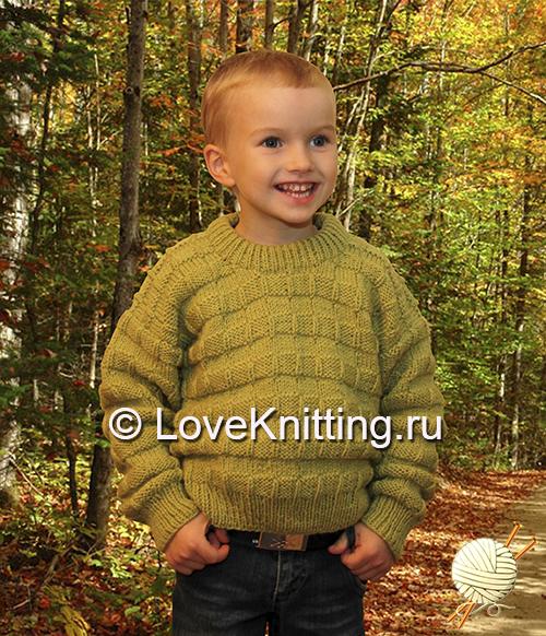 12 Автор Светло-зеленый пуловер МТ2 (500x582, 434Kb)