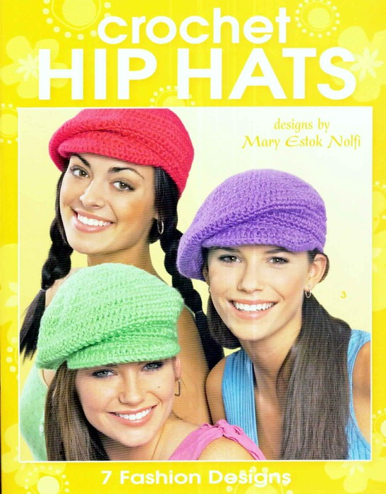 Crochet Hip Hats (547x700, 101Kb)