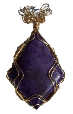 1002-61 gemstone sugilite pendant, handcrafted CT jewelry-3 (249x386, 113Kb)