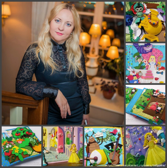 Несколько сюжетов сказок из фетра от рукодельницы Екатерины Мосейчук/5189181_ (694x700, 432Kb)
