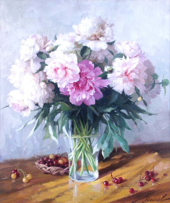 www.ArtsGallery.pro_Nikolaev_Yuriy_Piony_S_Chereshney_medium_238962 (587x700, 501Kb)