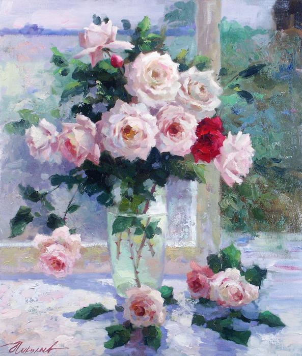www.ArtsGallery.pro_Nikolaev_Yuriy_Rozy_Na_Okne_medium_235648 (593x700, 845Kb)