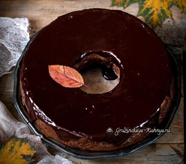 Тыквенный кекс с шоколадом. Рецепт (4) (650x576, 307Kb)